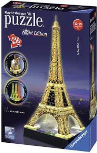 Torre Eiffel Puzzle 3D