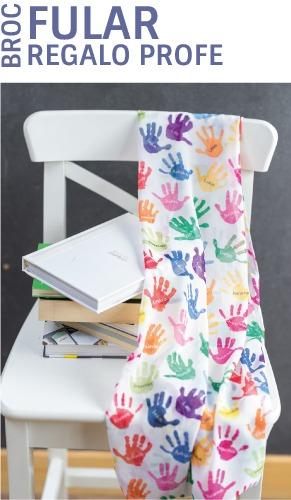 fulares personalizados regalos para profesores dibujos mr broc