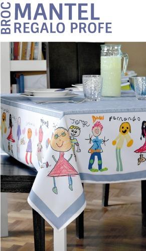 manteles personalizados regalos para profesores dibujos mr broc