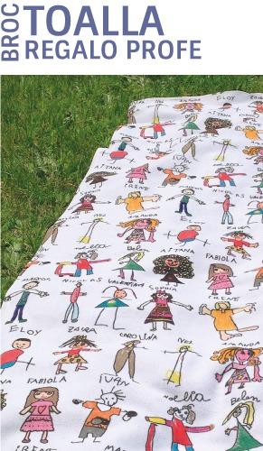 toalla personalizadas regalos para profesores dibujos mr broc