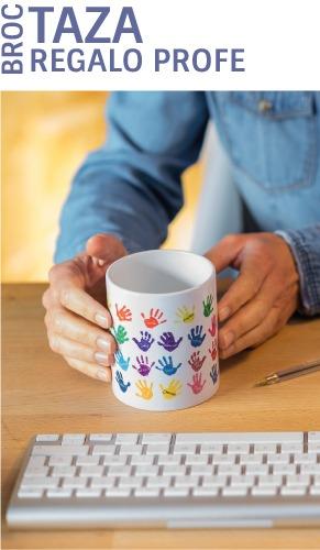 tazas personalizadas regalos para profesores manitas mr broc
