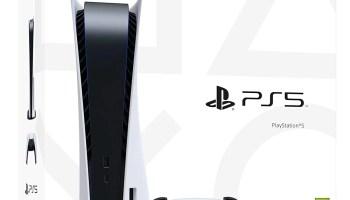 Consola PS5 blanca