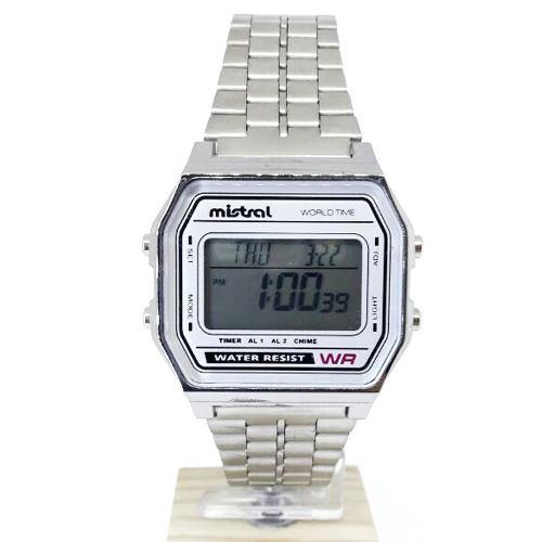 35c2057bbfbb Reloj Mistral Hombre Gsr-1103-08 Digital Acero Inox Retro - Regalos Alvear