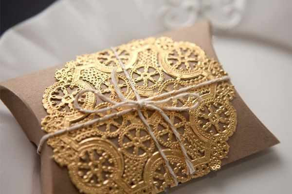 Sencilla y bonita manera de presentar un regalo