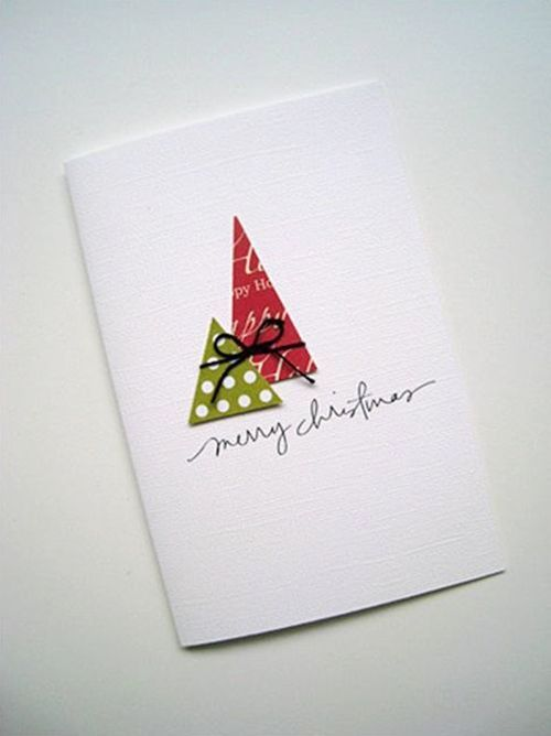 Tarjetas de Navidad originales hechas a mano 6