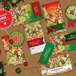 Cómo envolver regalos más bonitos con etiquetas de Navidad para imprimir