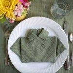Nuevas ideas para doblar servilletas para decorar la mesa