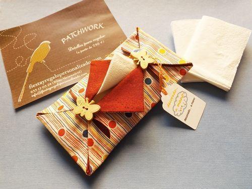 detalle de boda originales delicadas fundas para pañuelos de papel 4