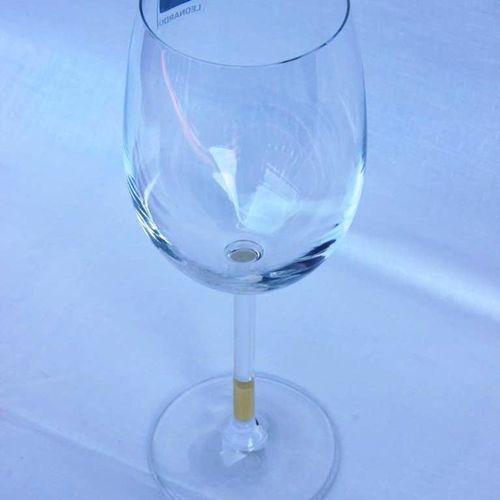 Copas de vino personalizadas con pintura de pizarra 3