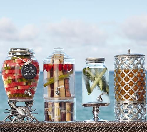 Dispensador de bebidas decorativo para bodas y fiestas 6