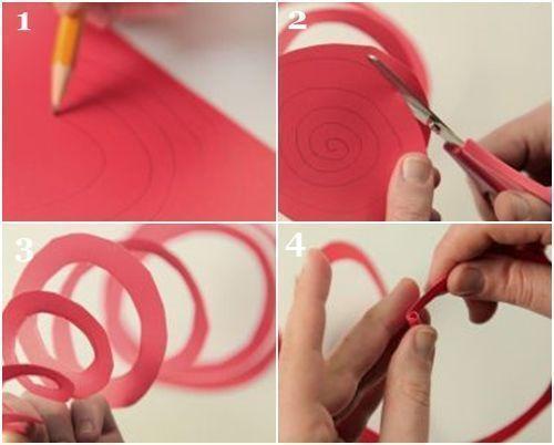 como hacer flores de papel 4