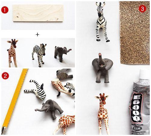 Manualidades de reciclaje con figuras de animales 4