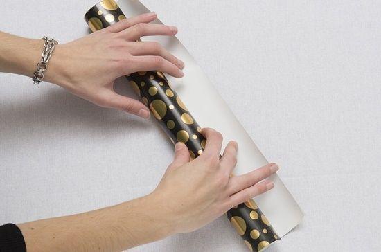 christmas crackers como hacer crackers de Navidad con papel de regalo2