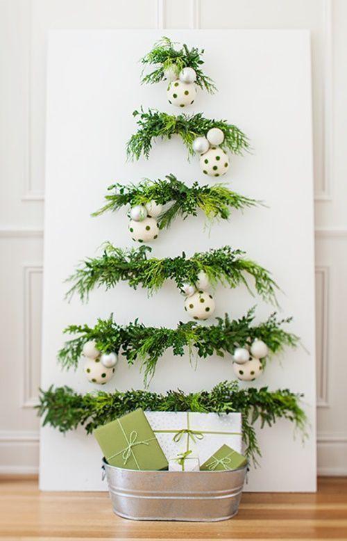 3 ideas de árboles de Navidad originales y que no ocupan atrévete con ellos 1