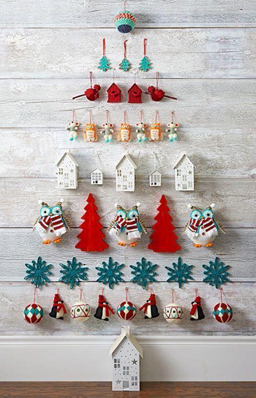 ideas de rboles de navidad originales y que no ocupan atrvete con ellos