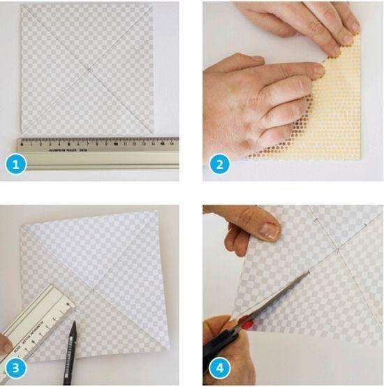 Molinillos de viento de papel DIY 2