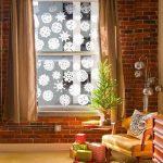 Copos de nieve de papel hechos a mano para Navidad