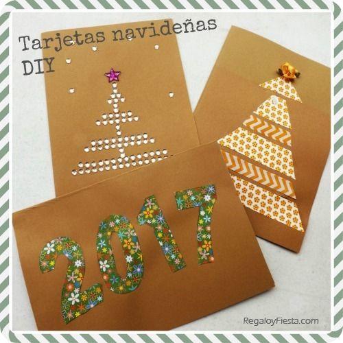 Navideas Originales Arbol De Navidad Original Navideas Originales - Como-hacer-postales-de-navidad-originales