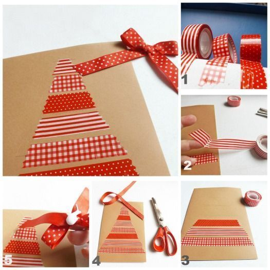 Tarjetas de navidad originales hechas a mano 4 regalo y - Targetas de navidad originales ...