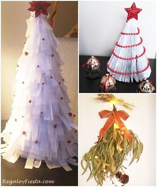 aqu tienes para navidad fciles y a decorar sin gastar seguro que te sirven de inspiracin para tus propios adornos navideos