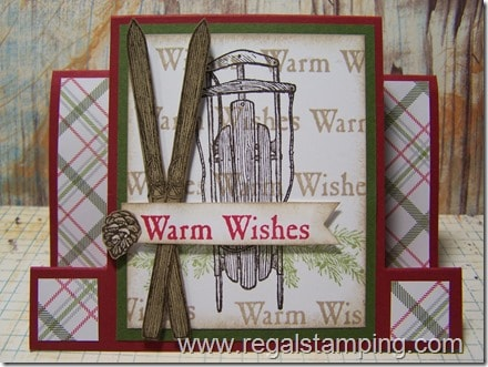 Warm Wishes, Stampin' Up!, by Krista Thomas, www.regalstamping.com
