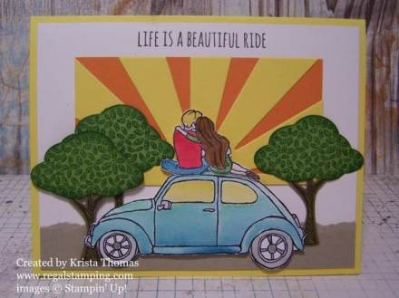 Beautiful Ride, Stampin' Up! Occasions 2016 Catalog, by Krista Thomas, www.regalstamping.com
