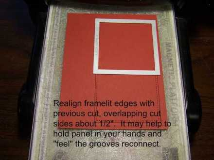 Framelit Tutorial by Krista Thomas, www.regalstamping.com