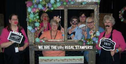 silly photo props, Create Your Retreat at 7 Feathers Casino & Resort 2017