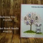 Easter Egg Tree Card with Sheltering Tree, Stampin' Up!