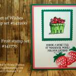 Fresh Fruit in a Basket of Wishes