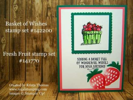Fresh Fruit, Basket of Wishes, Suite Sentiments