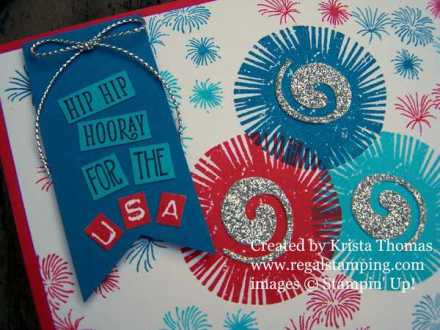 Lovely Inside & Out fireworks card by Krista Thomas, www.regalstamping.com