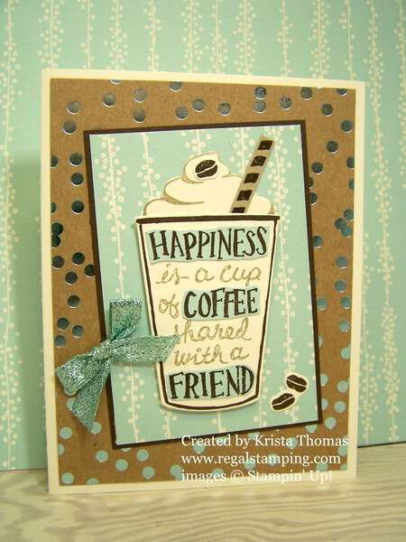 Coffee Cafe Bundle, Foil Frenzy and Bundle of Love