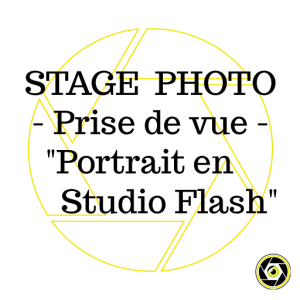 Stage Prise de Vue Portrait en studio