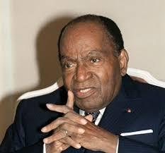 Felix Houphouët-Boigny, 1er président de la République de Côte d'Ivoire