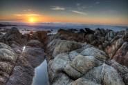 Sunset Carmel HDR