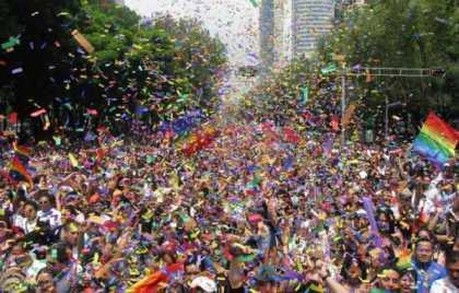 Marcha del Orgullo gay en la Ciudad de México