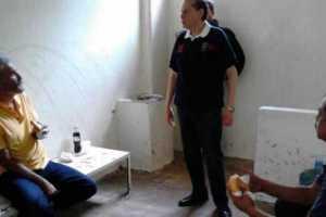 Mireles detenido en Morelia Foto Twitter: @caballeromaicol