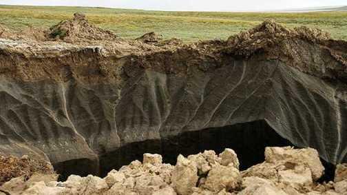 Aparece segundo enorme cráter en Siberia