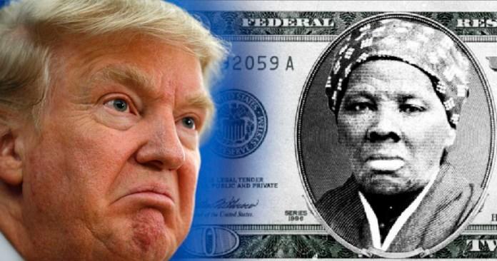 Trump no quiere a una mujer negra en billetes de dólar