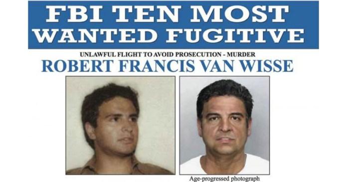 Robert Van Wisse, Mexicano, entre los 10 más buscados por el FBI