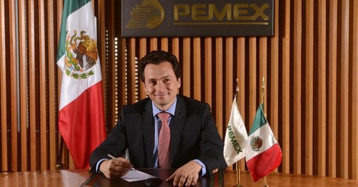 Emilio Lozoya Austin ex director pemex vuelos