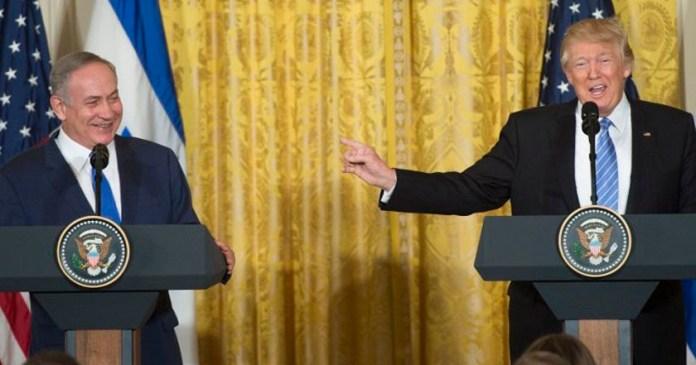 benjamin netanyahu primer ministro israel donald trump presidente estados unidos