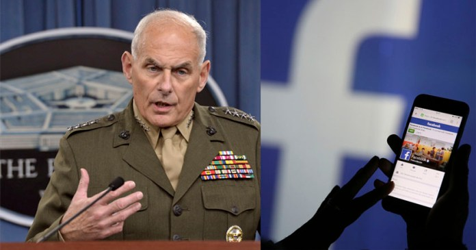pentágono John Kelly secretario seguridad nacional Estados Unidos Visa migrantes acceso facebook redes contraseña