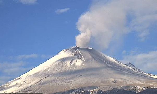 popo - Volcán Popocatépetl registra 103 exhalaciones y tres explosiones