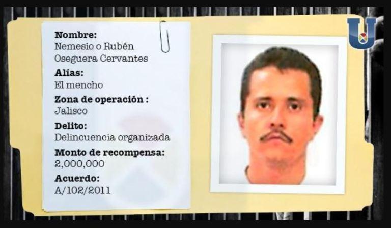 La historia de Nemesio Oseguera Cervantes, alias 'El Mencho'