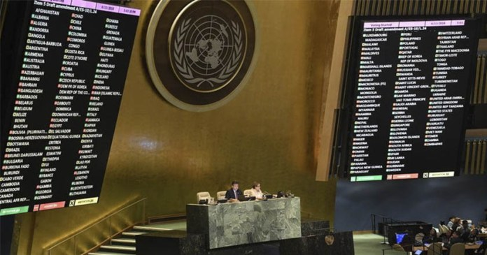 Condenan 120 países de la ONU a Israel por violencia en Gaza; México se abstuvo