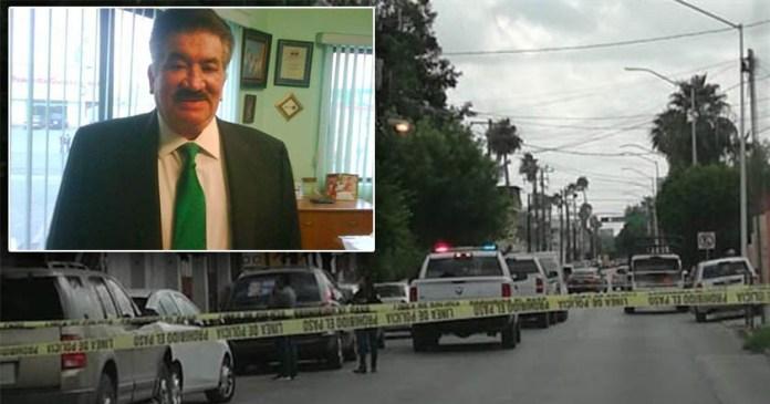 Asesinan en su domicilio a exalcalde de Nuevo Laredo, Arturo Cortés Villada; fue con arma punzocortante