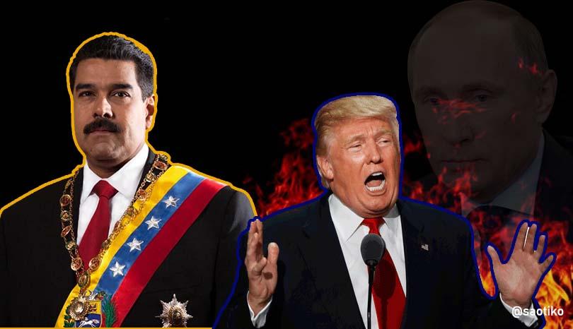 trump maduro - EU recurre a la Doctrina Monroe para reemplazar a Nicolás Maduro