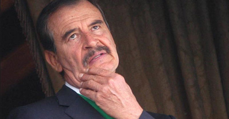 vicente fox pensando 960x500 - Vicente Fox vuelve atacar a AMLO; Noroña lo llama 'cabeza hueca, bruto e ignorante'